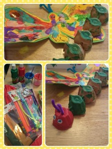 Caterpillar craft ideas