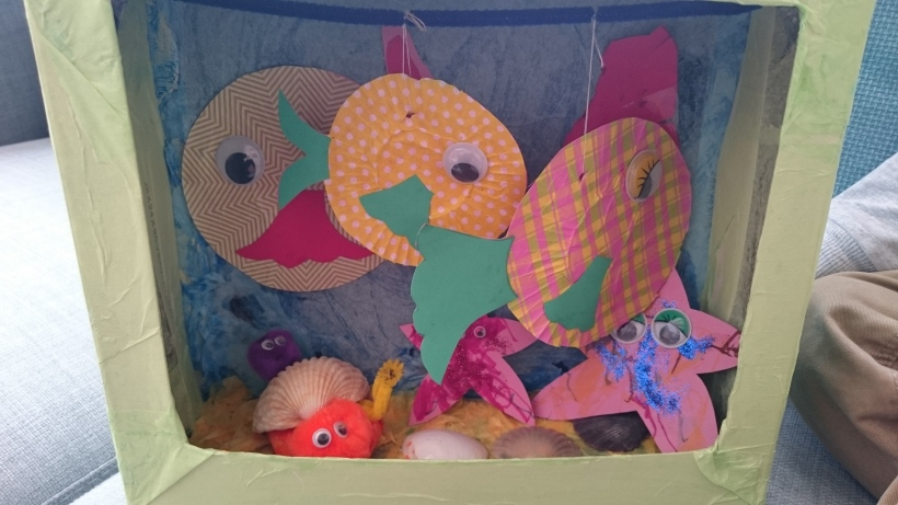 fish tank craft for toddlers